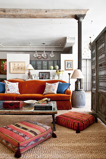 Deborah French Designs Living Room | Midwestern Musing