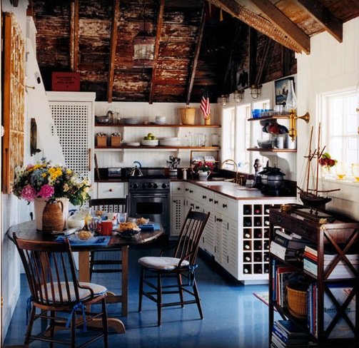 Gary McBournie Boathouse Kitchen | Midwestern Musing