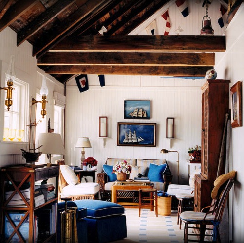 Gary McNournie Boathouse Living Room | Midwestern Musing